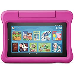 "All-new Fire 7 Kids Edition Tablet | 7"" Display, 16 GB, Pink Kid-Proof Case"