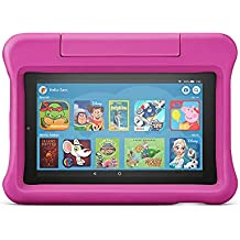 """All-new Fire 7 Kids Edition Tablet   7"""" Display, 16 GB, Pink Kid-Proof Case"""