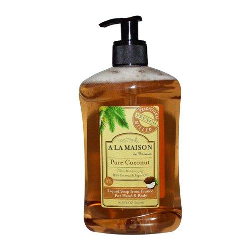 A La Maison French Liquid Soap, Coconut, 16.9 Ounce by A La Maison
