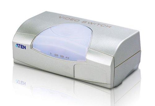 ATEN VS491 VS-491 VGA Switch Umschalter für Monitore Pc Tv Laptop Notebook Netbook mit 15poligem VGA Anschluss