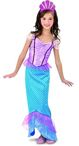 Imagen de disfraz sirenita niña  10 12 años alternativa