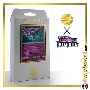 Florges 86/131 Holo Reverse - #myboost X Soleil & Lune 6 Lumière Interdite - Box de 10 Cartas Pokémon Francés