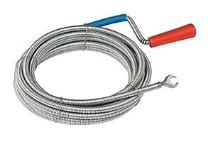 Meister Rohrreinigungswelle Ø 9 mm x 5 m ✓ Flexible Spirale mit Kralle ✓ Umweltfreundliche Lösung für hartnäckige Verstopfungen | Abflussspirale | Rohr-Reinigungssspirale | Abflussreiniger | 9405400