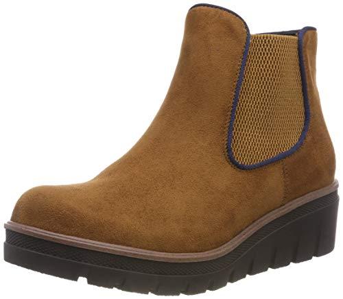 Rieker Damen 99194 Chelsea Boots, Braun (Muskat/Ozean 24), 39 EU