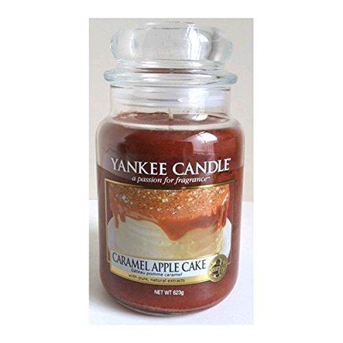 Offizielles Yankee Candle Limited Edition USA Exklusiv caramel Apple Kuchen Classic Signature 623g Glas, groß