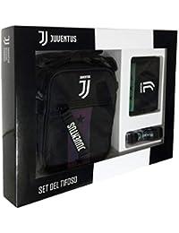 1ab641faaa Seven Kit del Tifoso Juventus con Tracolla,Portafoglio e Portapass Juventus
