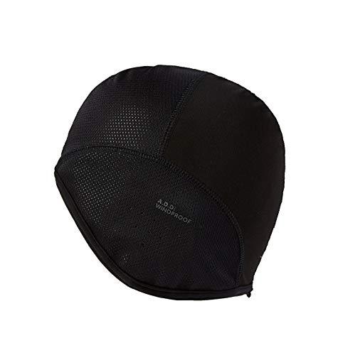 SealSkinz Cap Windproof Skull Black, S/M Fleece Skull Cap Hat