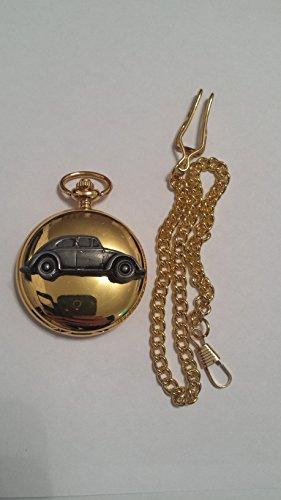 vw-beetle-ovale-finestra-posteriore-ref291effetto-peltro-emblema-su-un-oro-lucido-di-regalo-da-uomo-