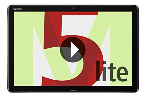 Huawei MediaPad M5 Lite LTE Tablet-PC (25,6 cm, 10,1 Zoll, Fingerabdrucksensor, Kirin 659, 3GB RAM, 32 GB, Android 8.0, EMUI 8.0) Grau