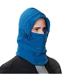 siggi Faux Fur Trapper Gorro para Hombre algodón cálido Ushanka Rusa Sombrero de Caza