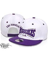 "Midi Shopping - Casquette Snapback Pas Cher Cap Hat Flatbrim ""Los Angeles"" CAP 13LA"
