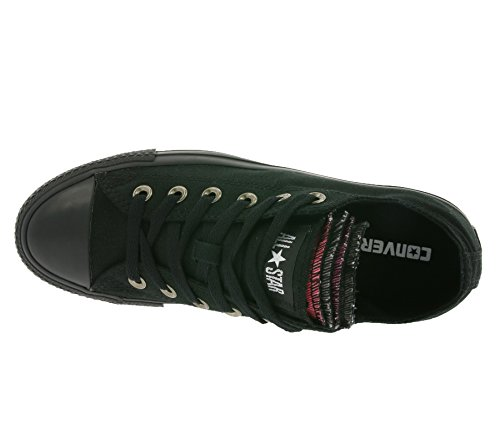 Converse All Star Chuck Taylor Multi TNG OX Schuhe Sneaker Turnschuhe Schwarz 132196C Schwarz