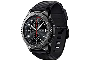 Samsung Sm-r760ndaadbt Gear S3 Frontier Smartwatch (3,3 Cm (1,3 Zoll) Display, Nfc, Bluetooth, Wlan, Tizen Os, Mit Silikon-armband) 4
