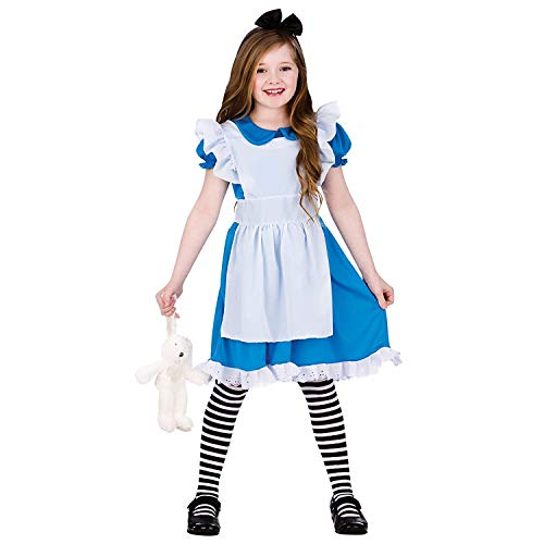 Classic Storybook Alice (5-7) Girls Fancy Dress Costume