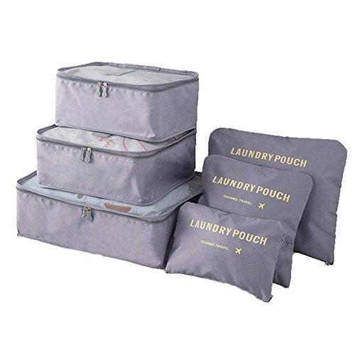 ruiting - Organizador para maletas gris