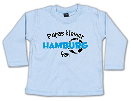 Papas Kleiner Hamburg Fan Baby Sweatshirt 268.0232 (18-24 Monate, blau)