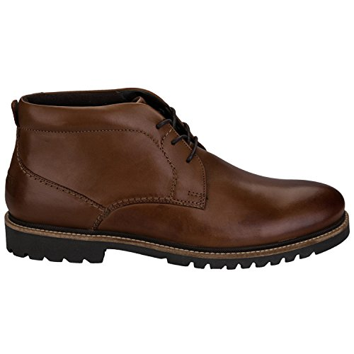 Rockport Herren Marshall Chukka Boots Braun (Cognac Leather)