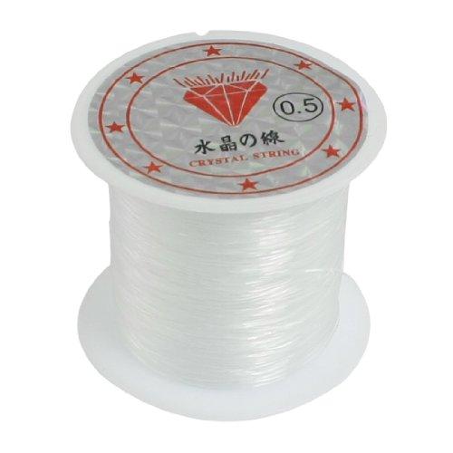 sourcingmap® 0.5mm Durchmesser Durchsichtig Nylon Fisch Angelschnur Schnur Spule Rolle NEU de