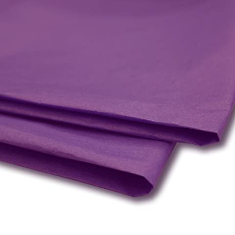 50 x Cadbury Purple Tissue Paper / Gift Wrap / Wrapping Paper Sheets (20 x 30) by Swoosh Supplies