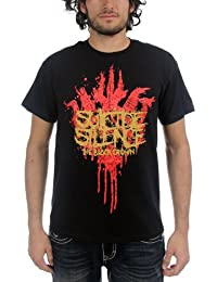 Suicide Silence - Mens Black Crown T-shirt in Black