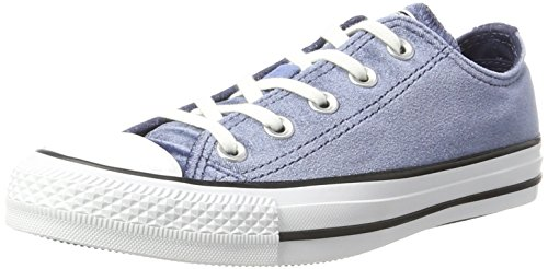 Converse Unisex-Erwachsene CTAS Ox Midnight Navy White Sneaker, Blau (Midnight Navy), 40 EU (Midnight Navy Schuhe)