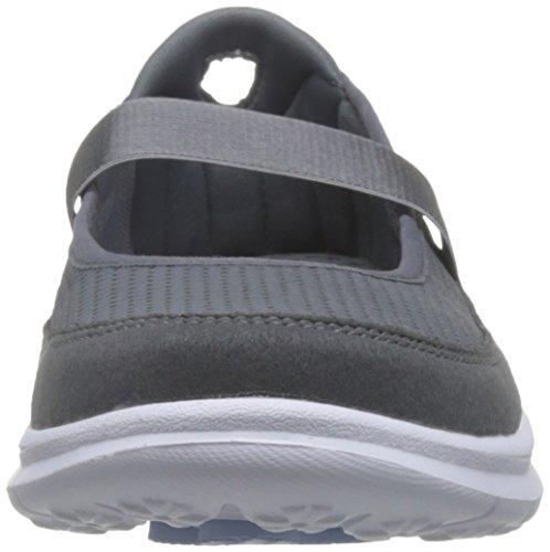 Skechers Aller étape D'origine 14213 Chaussures Noir Charbon De Bois