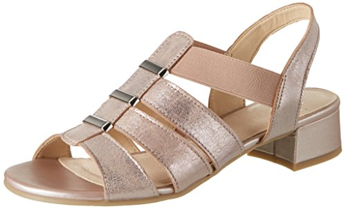 Caprice 28200, Damen Offene Sandalen, Pink (ROSE METALLIC), 40 EU (6.5 UK)