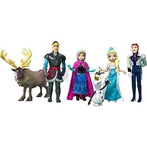 Disney Princesses - La Reine des Neiges - Y9980 - Poupée Mannequin - Pack Personnages Frozen