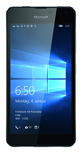 "Smartphone Microsoft Lumia 650 dual sim (display touch da 5"", 16 GB di memoria, Windows 10)"