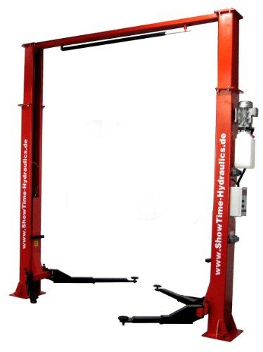 2 Säulen Hebebühne ShowTime-Hydraulics LO 2.32 HT 3.75 Tragkraft 4t