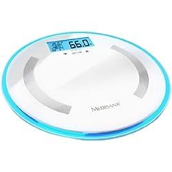 db95a058175967 Medisana BS 470 - Báscula digital de baño de baño, LCD, Color blanco,