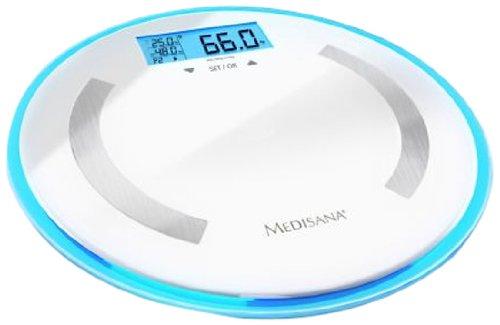 Medisana BS 470 - Báscula digital de baño de baño, LCD, Color...
