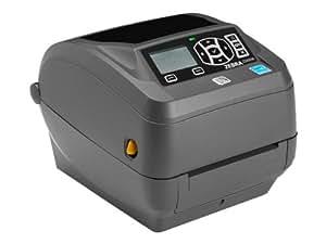 Zebra ZD500R - Label printer - monochrome - direct thermal / thermal transfer - Roll (10.8cm) - 300 dpi - up to 102 mm/sec - parallel, USB, LAN, serial, Wi-Fi(n), Bluetooth 3.0 EDR(ZD50043-T2E3R2FZ)