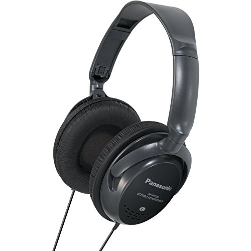 Panasonic RP-HT225 Circumaural Diadema Negro - Auriculares (Circumaural, Diadema, Alámbrico, 18-22000 Hz, 3 m, Negro)