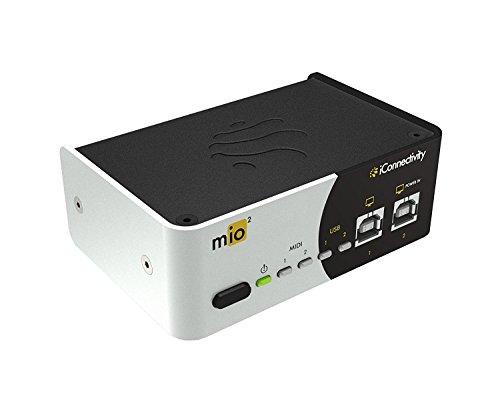 iconnectivity Mio 1 Eingang und 1 Ausgang USB zu Midi-Interface für Mac und PC. mio2
