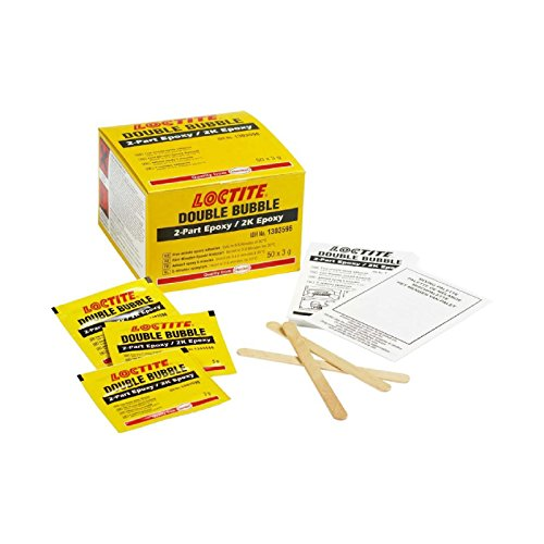 "Price comparison product image Genuine 10x Loctite""Double-Bubble"" Epoxy 3G Sachet Adhesive Bonding Glue Kit."