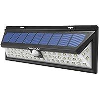 Mpow 54 LED Lampe Solaire Extérieur Etanche IP65 800 lumens Luminaire Exterieur/Spot Exterieur 270° Grand Angle Détecteur de Mouvement pour Jardin, Cour, Chemin,Escaliers, Clôture, Garage