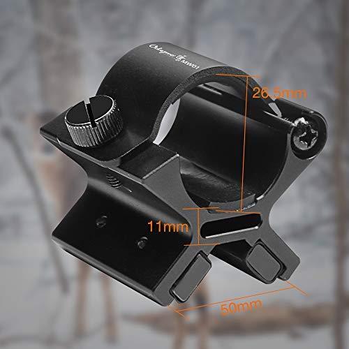 Odepro MW01 25mm magnethalter Taschenlampe Magnethalter Halterung Mount Halter für Taschenlampe -
