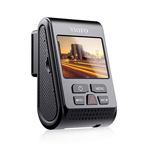 【2019 Neue Version】VIOFO A119 V3 Dashcam Autokamera 2560x1600P Quad HD+ IMX355 5MP Sensor Auto Kamera 140-Grad Weitwinkel gepuffert Parkmodus GPS Logger, Bewegungserkennung, G-Sensor, Zeitraffer, WDR -