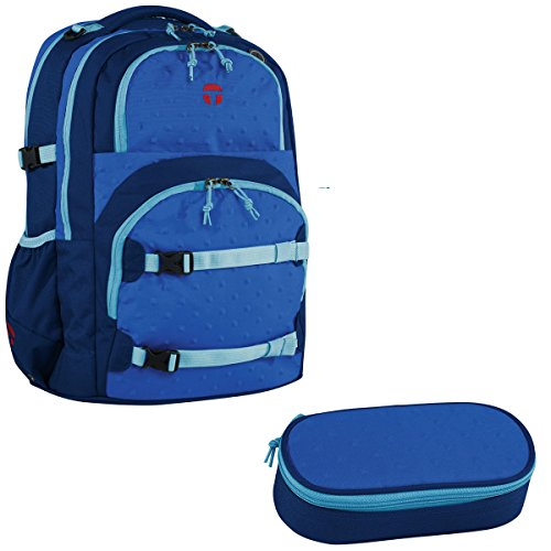 Preisvergleich Produktbild Take it Easy Schulrucksack Oslo Flex Zoom Blue 2 tlg. (12)