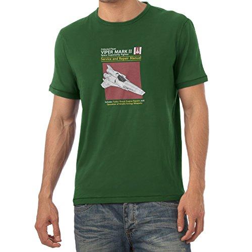 TEXLAB - Viper Repair Manual - Herren T-Shirt Flaschengrün
