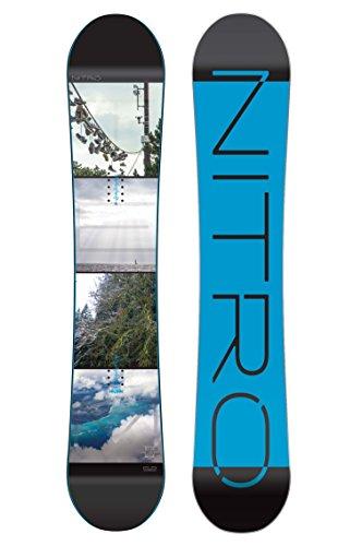 Nitro Snowboards Herren All-Mountain Board schwarz 165W auf Amazon