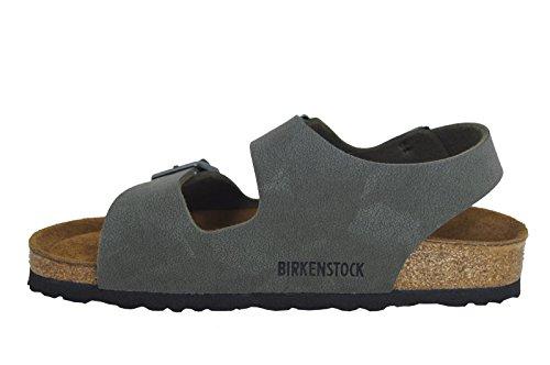 Birkenstock Milano birko-flor, Sandales Unisexe–Adulte Verde (Smaragdgrun)