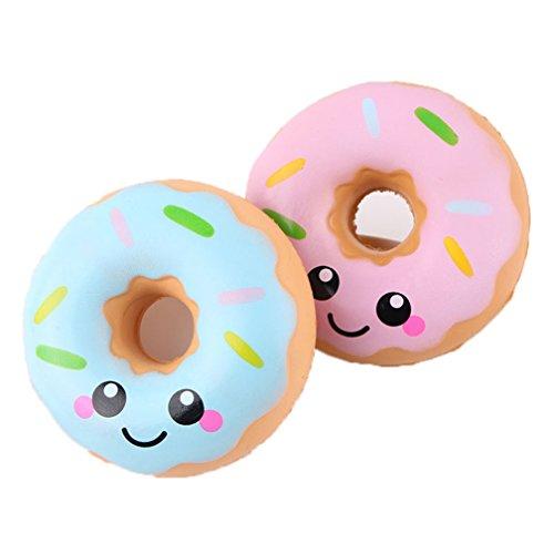 Squishies Spielzeug Kawaii Donuts Squeeze Langsam Rising Squishies Stress Relief Soft Toy von Kfnire, 1 stück zufällige farbe
