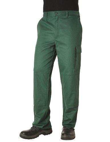 PIONIER WORKWEAR Herren Bundhose Cotton Pure in grün (Art.-Nr. 9393) grün,Größe 98