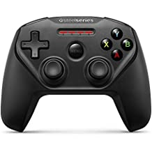 SteelSeries Nimbus (iOS, Mac, Apple TV) Wireless Gaming Controller, Black, 12 Buttons