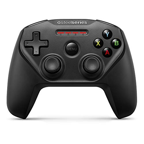 SteelSeries Nimbus - Controlador de juegos inalámbrico, Bluetooth, 12 botones, recargable, (Apple TV/IOS / iPad/iPhone / iPod Touch/Mac, negro