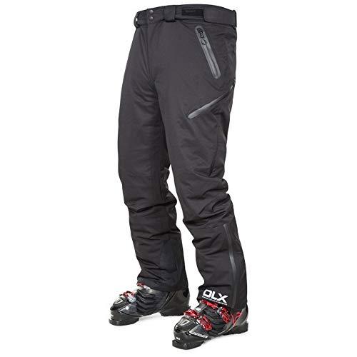 66b293b32df5 Trespass Kristoff - Pantaloni da Sci Impermeabili con Bretelle Rimovibili,  Zip alla Caviglia, Ghette