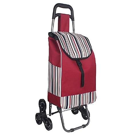 Panier d'achat En alliage d'aluminium Folding, old man Shopping Trolley Shopping Trolley, Home Large Capacity Shopping Cart , 002