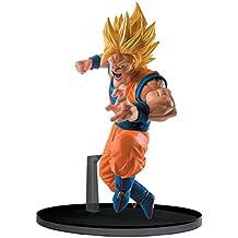Banpresto Dragon Ball Super 5.1 Super Saiyan 2 Goku Figure, SCultures Big Budoukai 6, Volume 4 by Banpresto